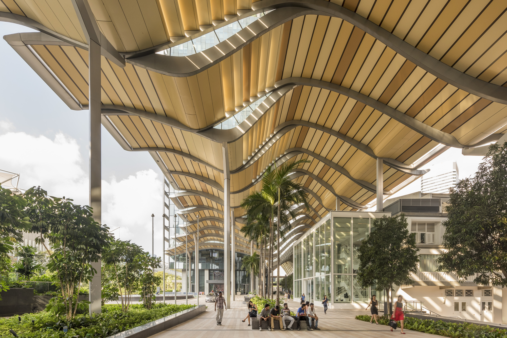 South Beach Foster Partners Archdaily