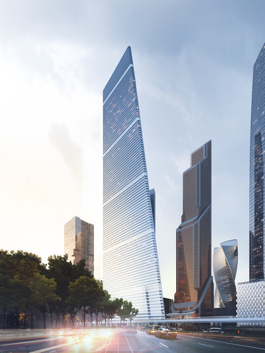 Moscow's New Supertall Skyscraper Approved for Construction, High-rise Residential Complex. Image Courtesy of Sergey Skuratov Architects