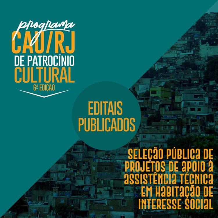 CAU/RJ lança editais de patrocínio cultural e de assistência técnica para moradias de interesse social