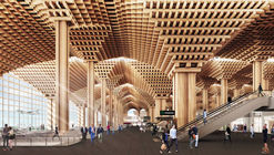 DBALP Wins Design for Bangkok Airport Terminal Amid Claims of Plagiarism