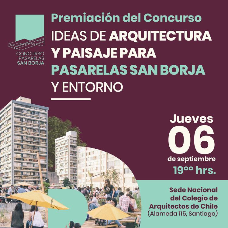Premiación del Concurso Pasarelas San Borja en Santiago, Premiación del Concurso Pasarelas San Borja