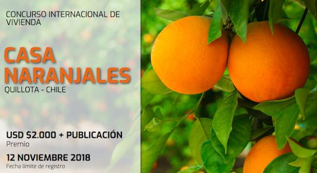 Postulaciones Abiertas: Concurso Internacional de Vivienda 'Casa Naranjales', Chile, Elaboración propia. Abouthaus.