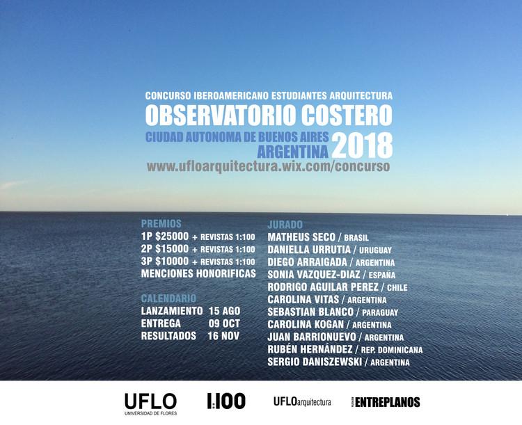 Concurso de ideas para el diseño del observatorio costero ubicado en el Parque de los Niños de la Ciudad Autónoma de Buenos Aires (Argentina)