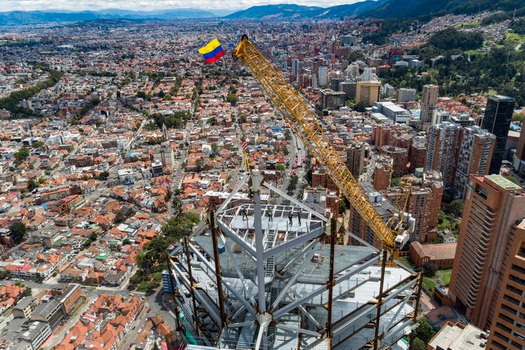 Torre Norte de ATRIO alcanzó su cima en Bogotá, © ATRIO