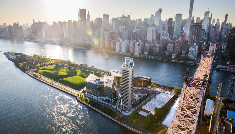 U.S. Mayors Join Coalition for New Buildings to be Net-Zero by 2030, Cornell Tech Campus. Image © Iwan Baan