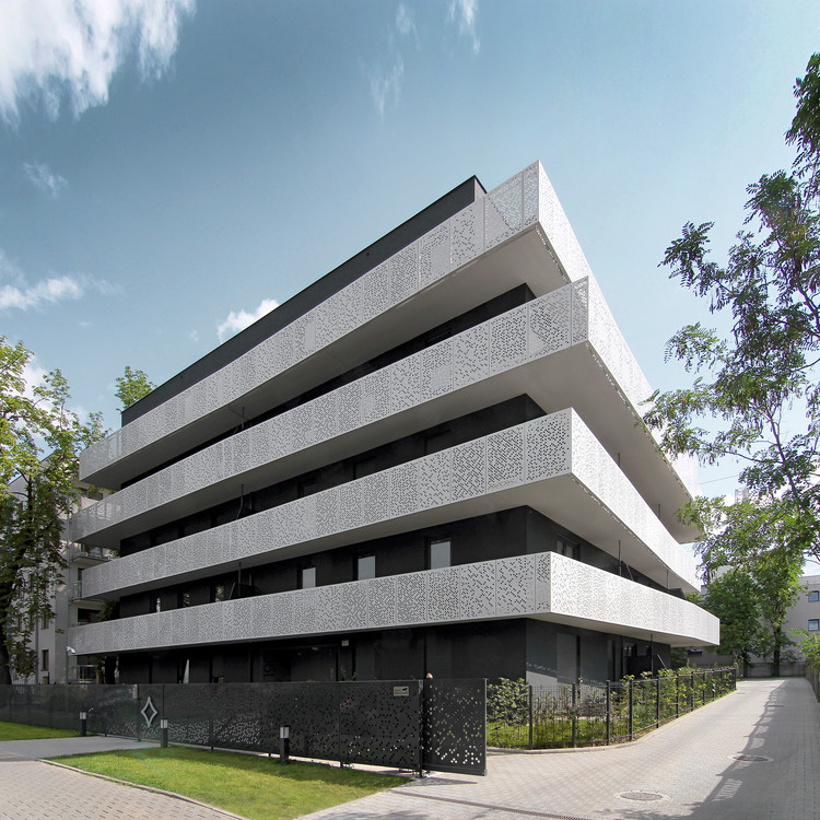 The Górny Taras Multi-Family Residential Building / Neostudio Architekci, Courtesy of Neostudio Architekci
