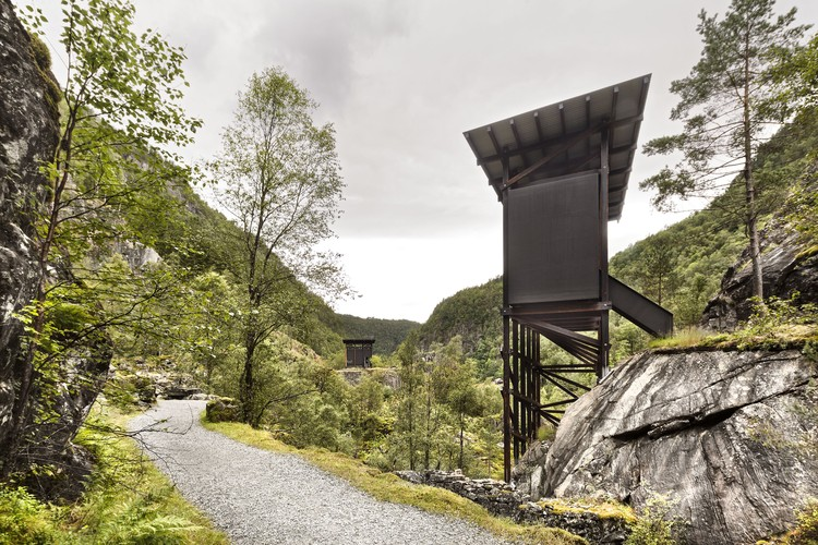 Explore Norway's National Tourist Routes in Berlin's Felleshus Exhibition This Fall, Allmannajuvet Zinc Mine Museum in Ryfylke by Peter Zumthor. Image © Ken Schluchtmann - diephotodesigner.de