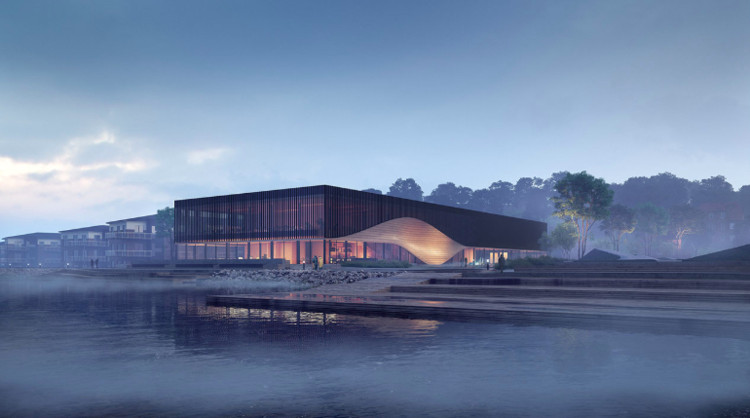 3XN's Waterfront Climatorium Pays Tribute to the Fishing Culture of Lemvig, Denmark, via 3XN