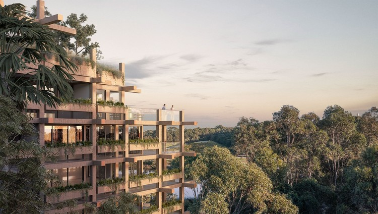 $700m One Sydney Park Development Submitted to the City of Sydney for Approval, One Sydney Park. Image Courtesy of MHN Design Union, Silvester Fuller and SBD