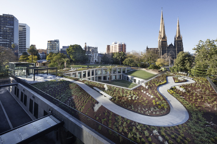 Parliament of Victoria Members' Annexe / Peter Elliott Architecture + Urban Design, © John Gollings Photography