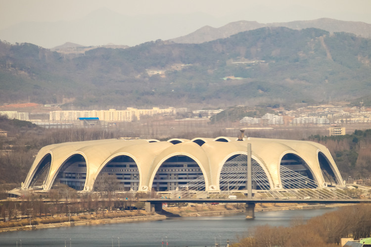 The 25 Largest Sports Stadiums in the World, 1. Rungrado 1st of May Stadium / Pyongyang, North Korea. Image via Viktoria Gaman / Shutterstock.com