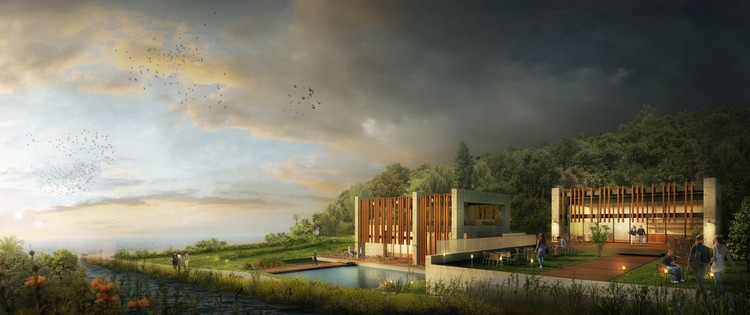 Project Design Group's Spa Resort to be Partially Lost in the Turkish Landscape, © Project Design Group