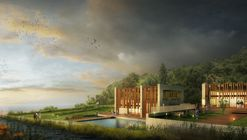 Project Design Group's Spa Resort to be Partially Lost in the Turkish Landscape