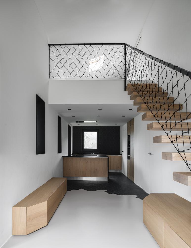 Galer a de barandas y pasamanos para escaleras materiales estructuras y formas creativas 15 - Materiales para escaleras ...