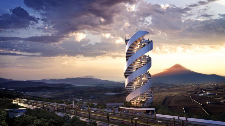 Un nuevo edificio conformará el paisaje de Puebla, México: Torre Helea, Cortesía de Bulnes Arquitectos