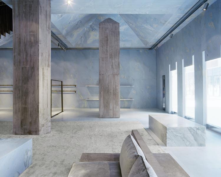 Céline Flagship Store / Valerio Olgiati, © Mikael Olsson