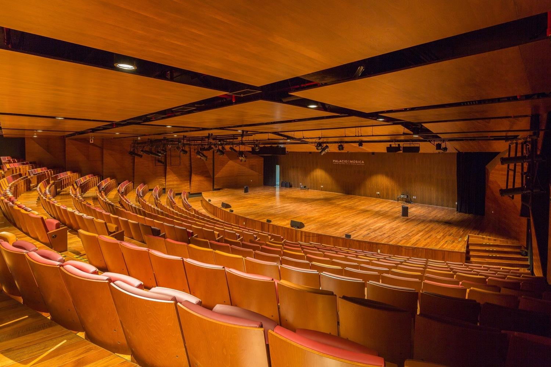 auditorio del Palacio de la música