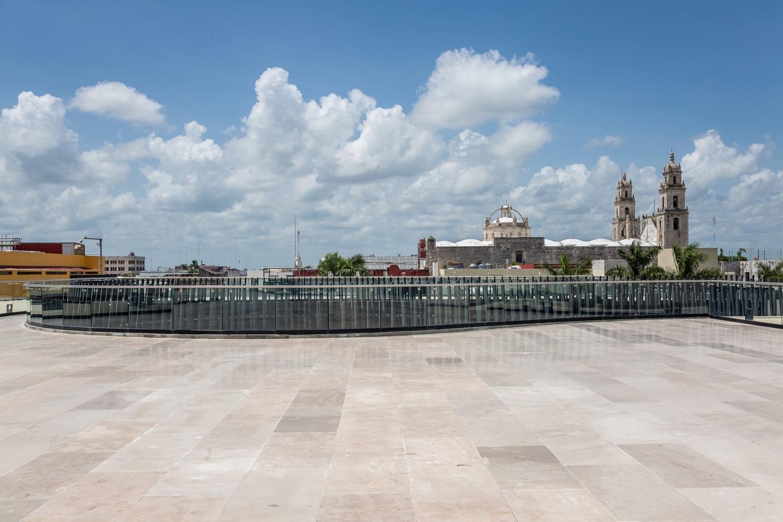 vista desde la terraza del palacio de la musica