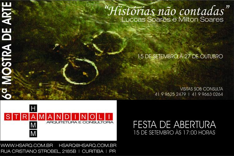 6ª Mostra de Arte da HS Arquitetura
