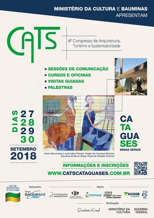 Congresso de Arquitetura, Turismo e Sustentabilidade - CATS, CONGRESSO DE ARQUITETURA, TURISMO E SUSTENTABILIDADE - CATS