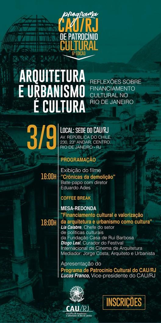 Arquitetura e Urbanismo é Cultura