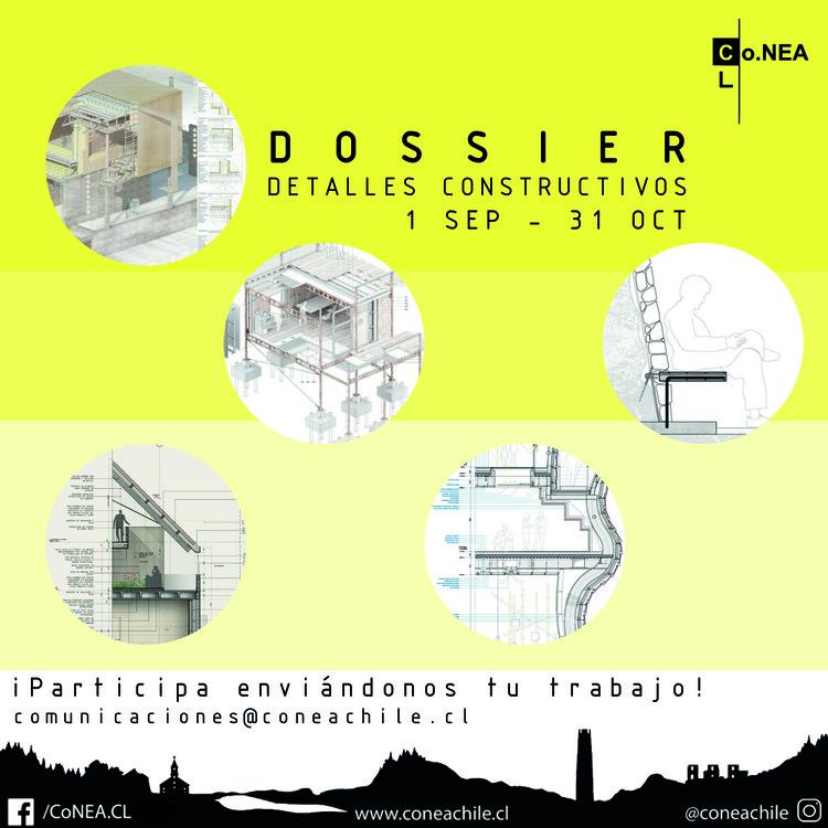 Participa del 1° dossier de detalles constructivos por estudiantes de arquitectura