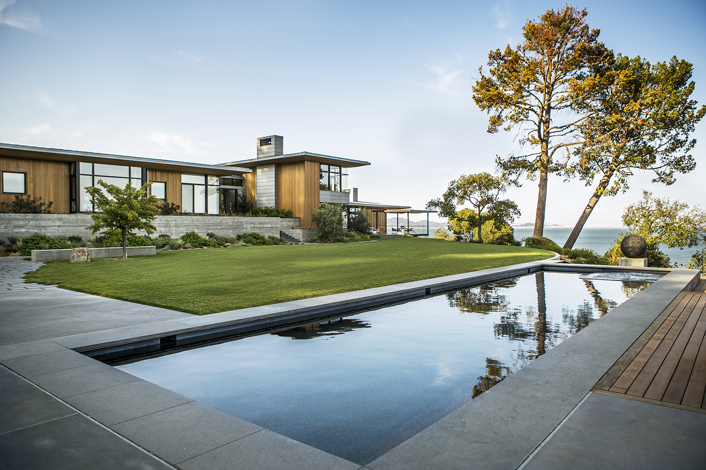 Tiburon bay view walker warner architects