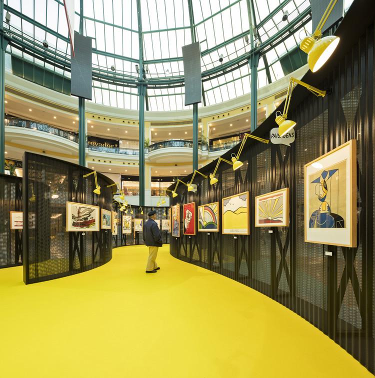 Roy Lichtenstein Temporary Museum / Diogo Aguiar Studio + João Jesus Arquitectos, © Fernando Guerra | FG+SG