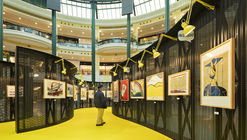 Roy Lichtenstein Temporary Museum / Diogo Aguiar Studio + João Jesus Arquitectos