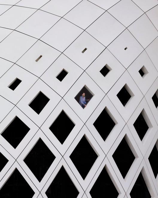 Instagram user @serjios (Serge Najjar). ImageZaha Hadid in Beirut