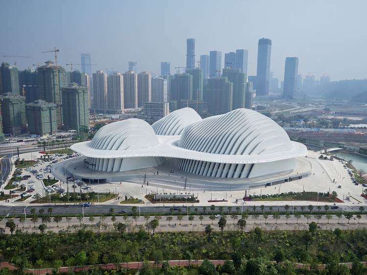 Guangxi Culture & Art Center / gmp Architects, © Christian Gahl