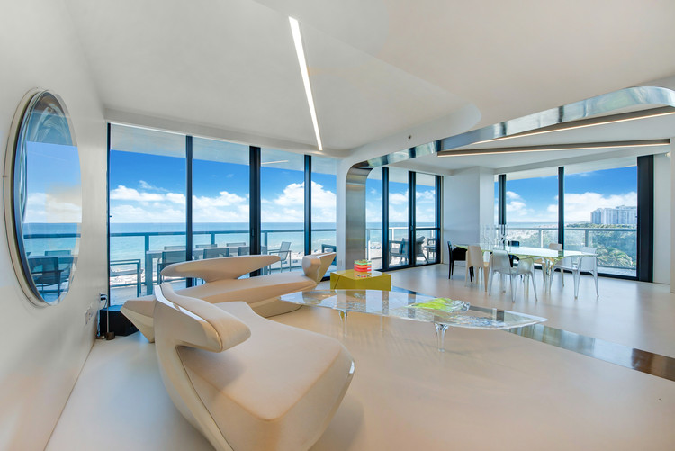 Dame Zaha Hadid's Private Miami Residence Sold by Sotheby's, Angelica 728. Image © Jehovy with Zignavisual