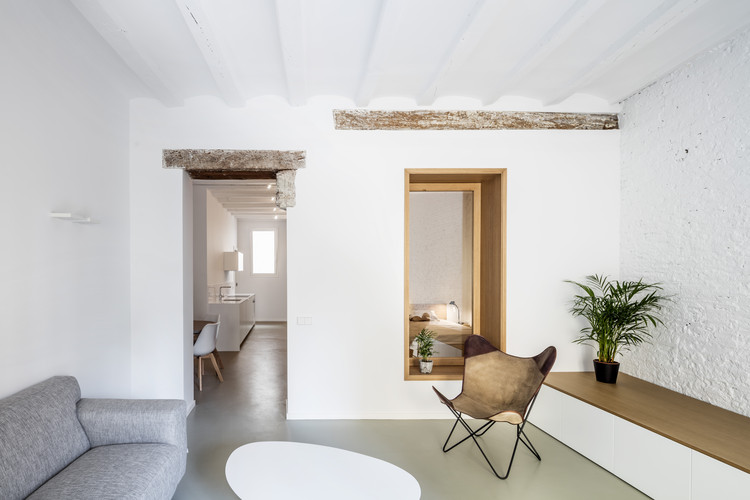 Reforma Interior TS01 / Alventosa Morell Arquitectes , © Adrià Goula