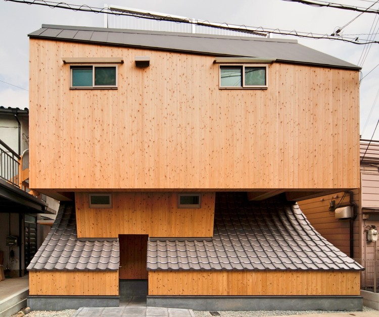 Beehive House / Jima Design, © Kazushi Hirano