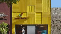Restaurante Marília Fit / David Guerra Arquitectura e Interior