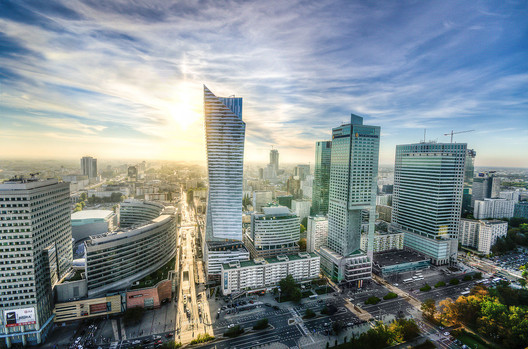 Warsaw - Now. Image Courtesy of Skitterphoto CC BY 0