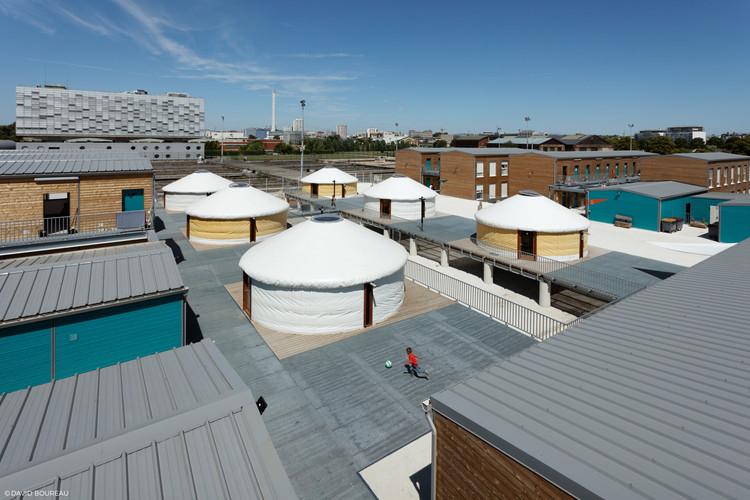 Refugio para migrantes y viajeros / Atelier RITA, © David Boureau