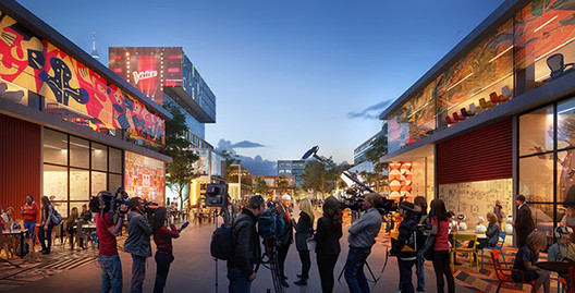 UNStudio Creates Urban Vision for Hilversum's Media Park , Hilversum Media Park. Image Courtesy of UNStudio