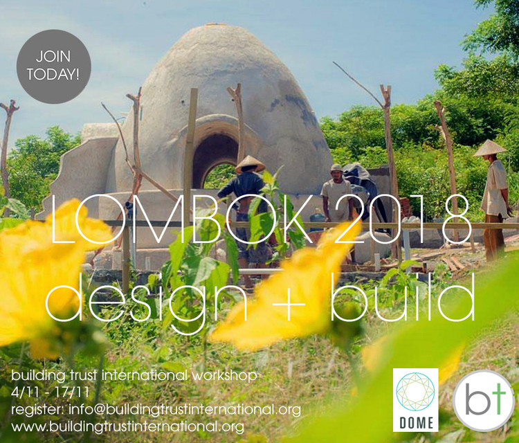 Design + Build Workshop Lombok 2018, Design + Build Workshop Lombok 2018