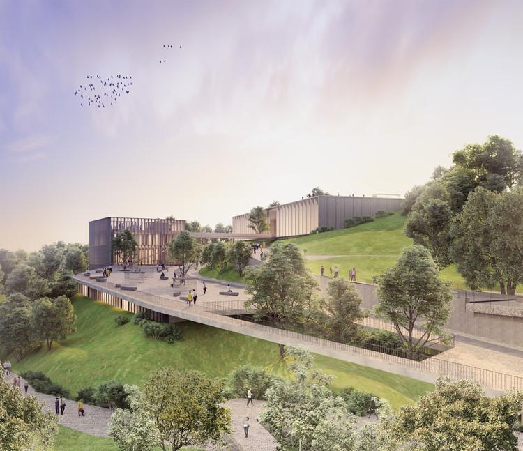 Arquitectura en Estudio + OPUS diseñarán el Centro de Felicidad Las Cometas en Bogotá, Cortesía de Equipo Primer Lugar