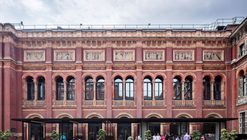 V&A Garden Cafe / Reed Watts Architects