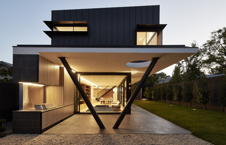 Hawthorn 1 / McSteen Tan Architects, © Peter Bennett