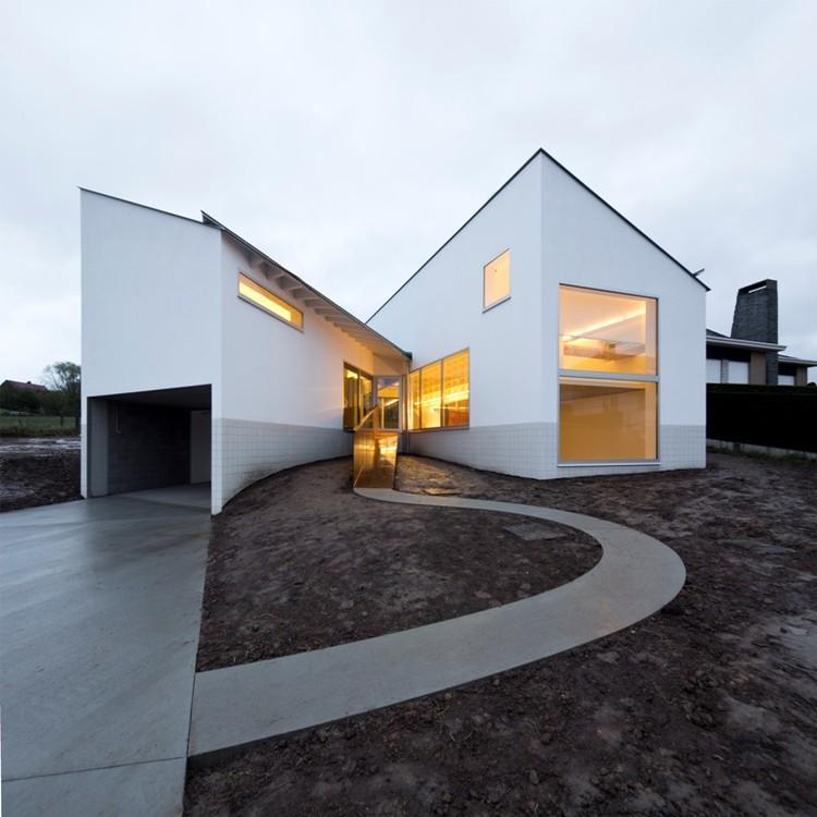 De Rijck – Casa Matthys / Atelier d'architecture Pierre Hebbelinck - Pierre de Wit, © François Brix