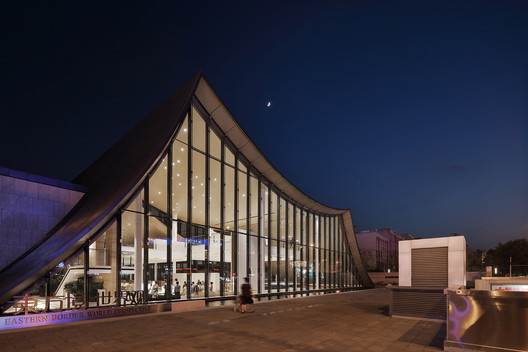 night view of exterior. Image © Yuchen Chao