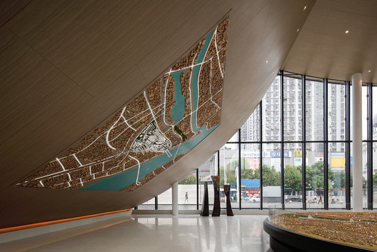 exhibition gallery. Image © Yuchen Chao