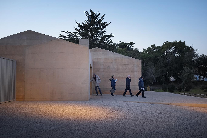 Welcome Pavilion Museum Clemenceau / Titan