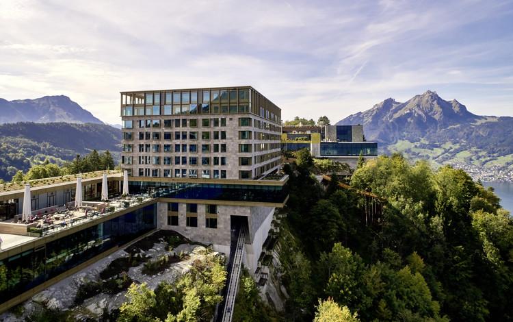 Bürgenstock Hotel / Rüssli Architekten AG, © Ben Huggler