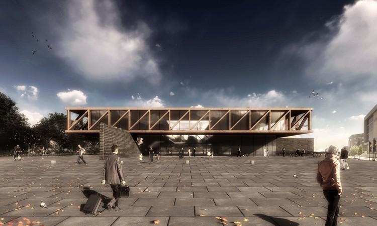 Conoce el diseño ganador de la Explanada Cívica del Biobío en Concepción, Chile, Cortesía de Equipo Primer Lugar