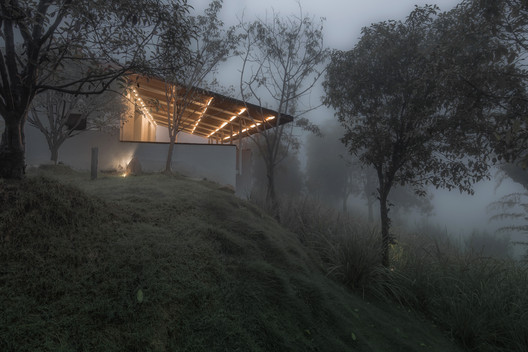 Cold Pavilion Exterior. Image © Yilong Zhao