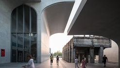Atelier Deshaus transforma el frente de Shanghai con tres proyectos culturales